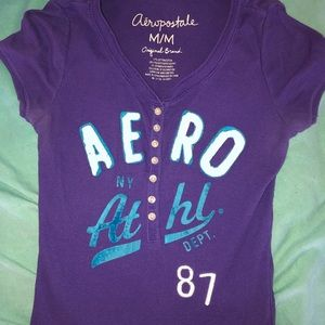 Aeropostale v-neck and Old Navy tank